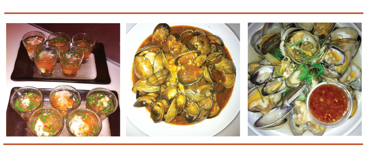 Oysters, Mussels, and Clams oh my!